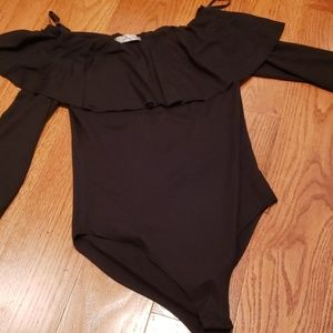 Tops - Black bodysuit
